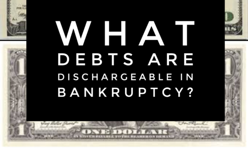 non-dischargeable debts